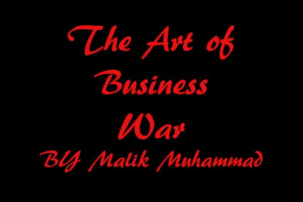 The art of business war quote