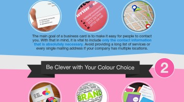 Business Cards – Here's What You Need to Know (Infographic)