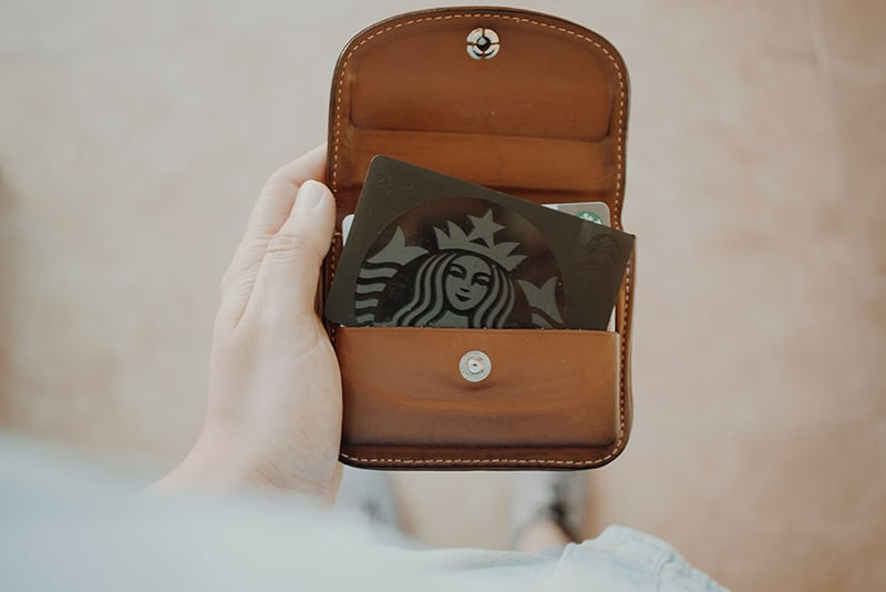Starbucks loyalty card - ways to reward customers for actions