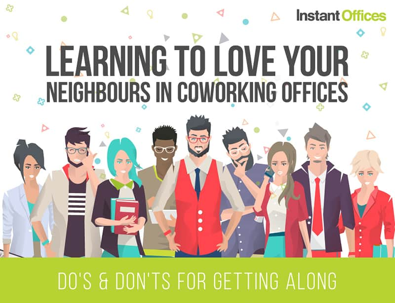 learning to love your neighbours in a coworking offices