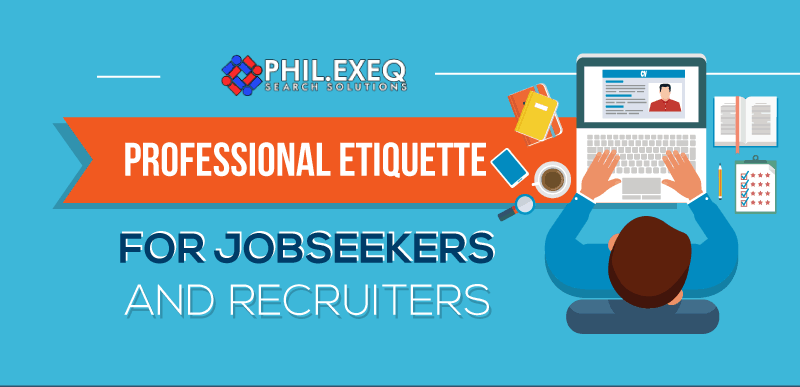 Professional Etiquette for Jobseekers and Recruiters illustration