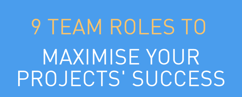 9 Team Roles to Maximise Your Projects' Success