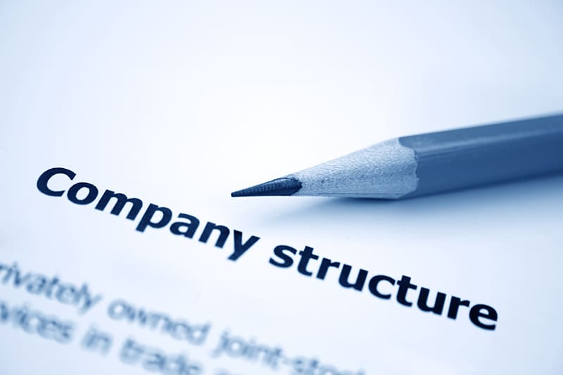 company structure - company registration