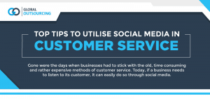 Tips to Utilise Social Media in Customer Service