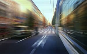 7 Ways to Accelerate Your B2B Sales Cycle Street motion blur background