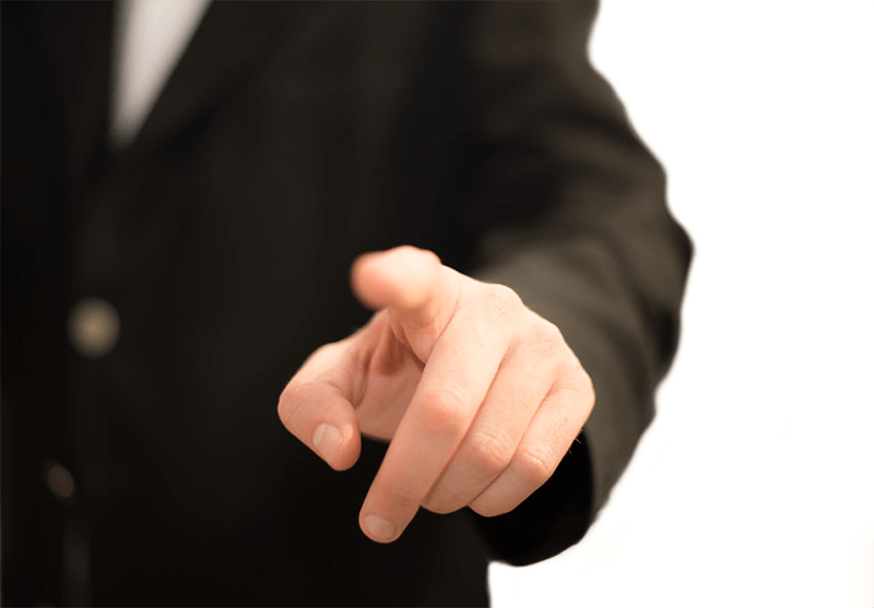Finger pointing - Are You Putting Your Small Business At Risk