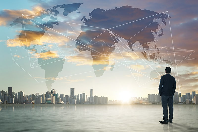 International business concept - International Sport and Global Trade – Is there a Link