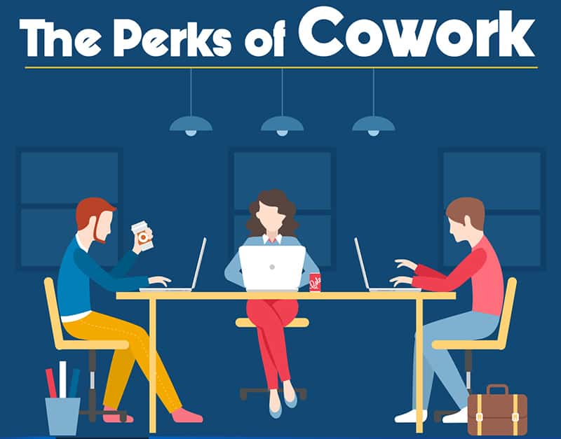 The Perks of Cowork – An Infographic