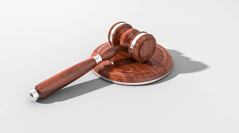 When Does Your Small Business Need The Help of a Lawyer - wooden gavel