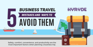5 Business Travel Mistakes and Ways to Avoid Them