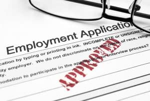 5 Types of Background Screening - Employment application