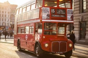 How Your Small Business Can Reduce Its Carbon Emissions - London bus