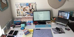 What's on your work desk_Monika Bhasin