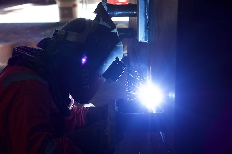 welder engineer industry industrial