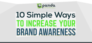 10-Simple-Ways-to-Increase-Your-Brand-Awareness title image by Panda paper rolls