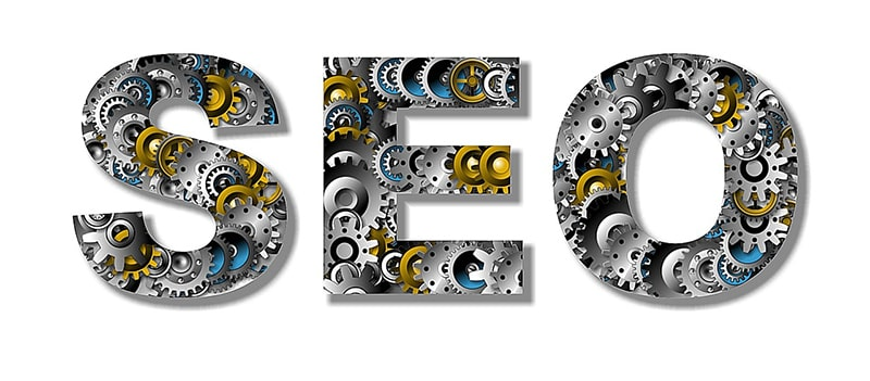 SEO search engine optimization illustration cogs