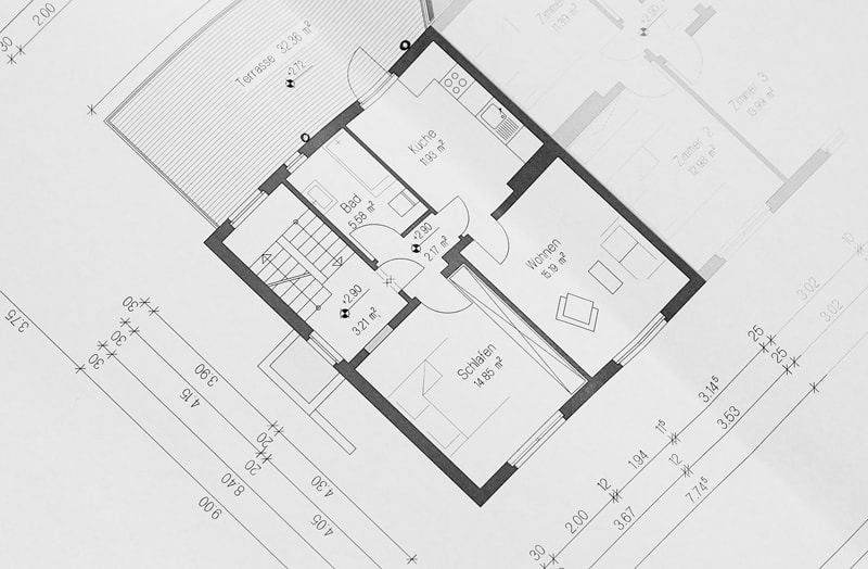 building plan floor plan estate agent listing