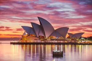 architectural photography Sydney Opera House Australia