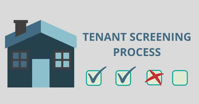 Tenant screening process