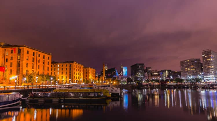 Albert dock architecture bridge buildings North West England