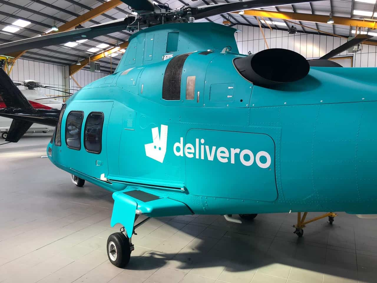 Charter A - Deliveroo - Roocopter - London Diners