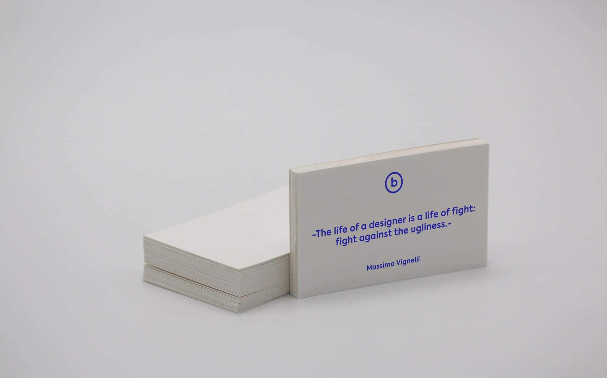A proffessional business card.