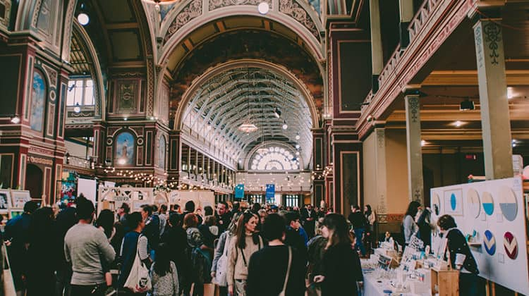 Royal Exhibition Building, Carlton, Australia - trade show