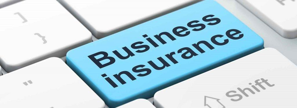 Business Insurance typed on keyboard key
