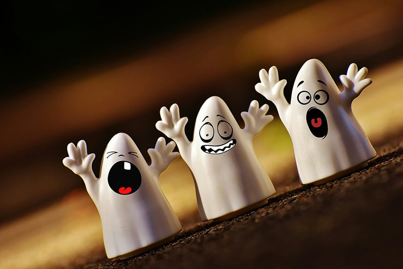 Halloween ghost - halloween horrors business mistakes