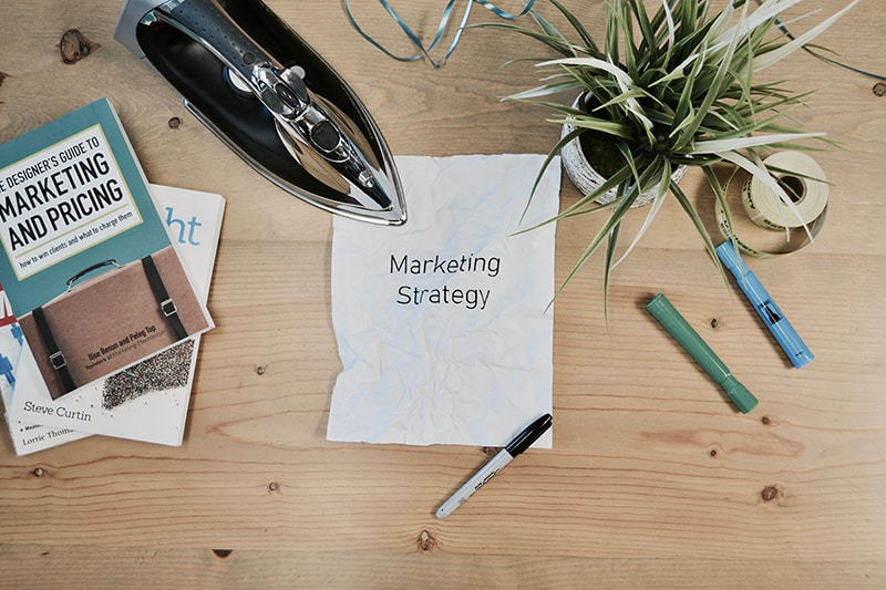 ironing out your marketing strategy