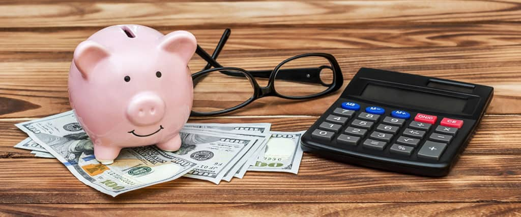 understanding the needs of your business - piggy bank and dollars