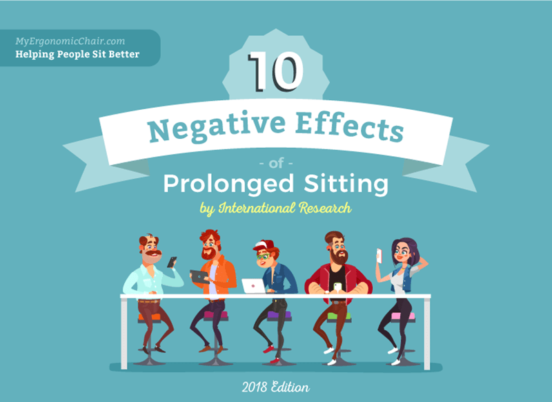 10 negative effects of prolonged sitting
