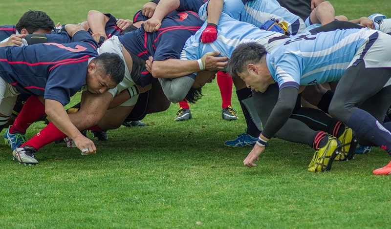 sport rugby team match scrum - scrum master tips