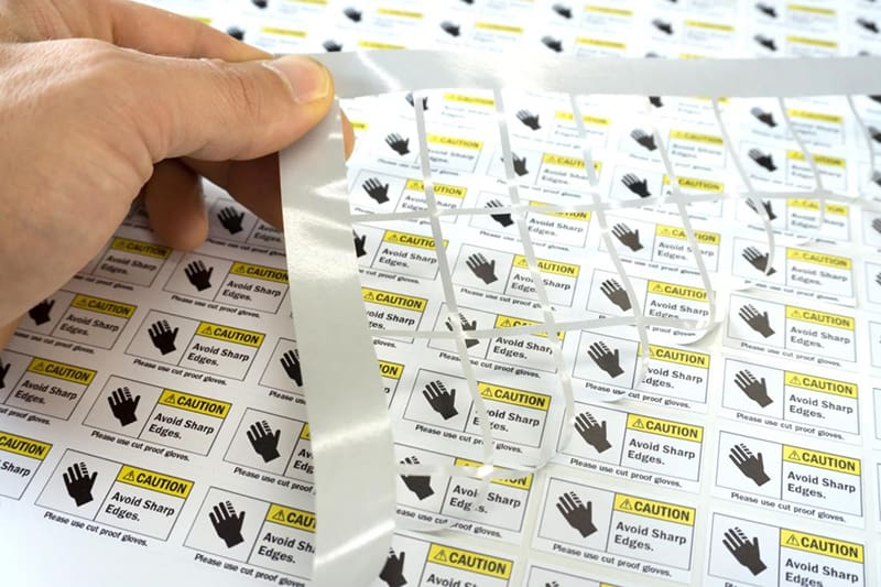 sticker printer paper for product label