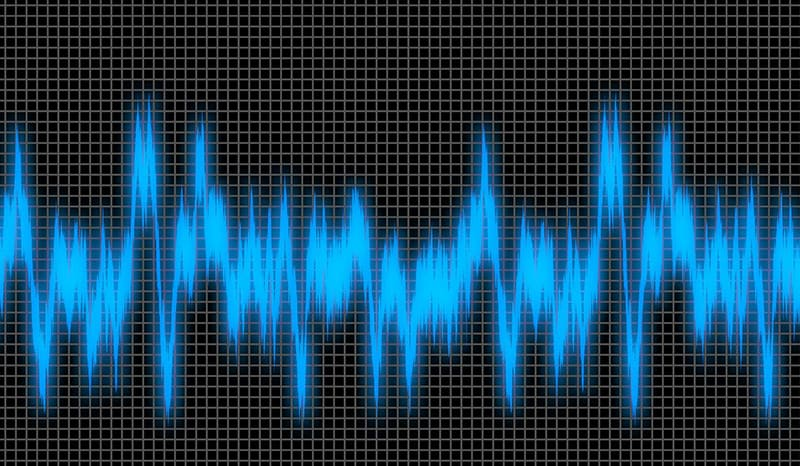 sound wave noise frequency waveform