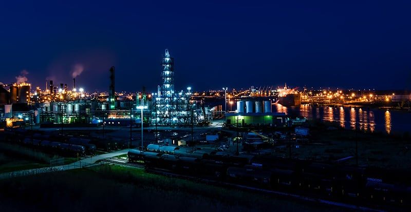 Port Arthur Texas - oil and gas industries