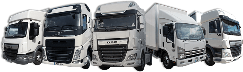 Selection of delivery vehicles for truck rental