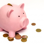 Ways to Finance Your Business - savings - piggy bank and coins
