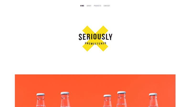 screenshot that boasts a minimalist design, making it look incredibly eye-catching with bright  color scheme