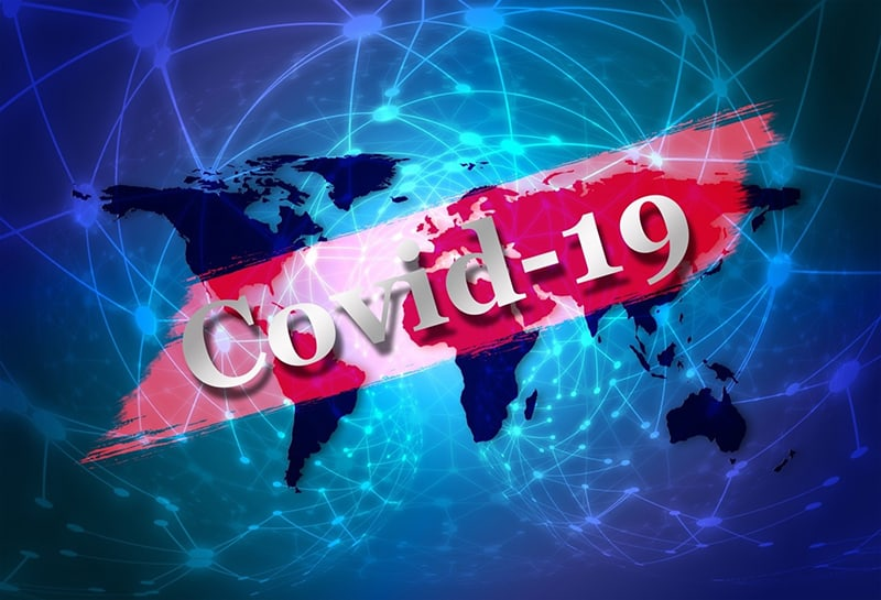 Covid-19 spreading across the globe