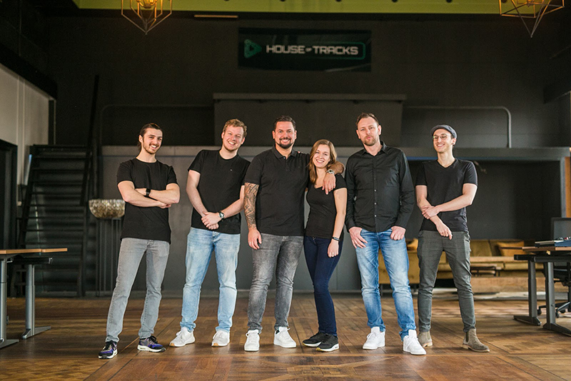 House of Tracks team members