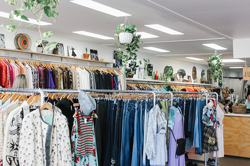 Social enterprise business - charity shop thrift shop