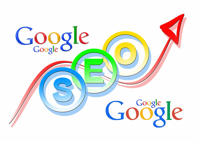 illustration SEO search engine google browser search
