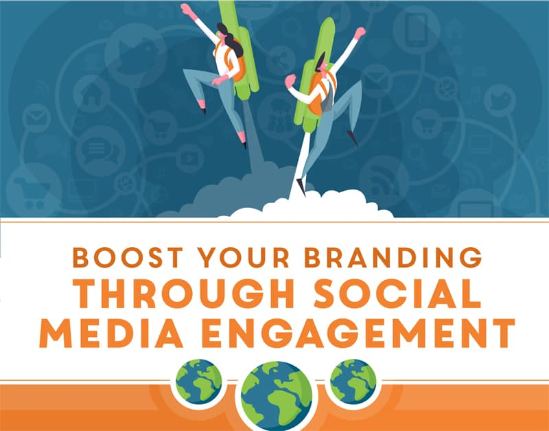 Boost your branding through social media engagement