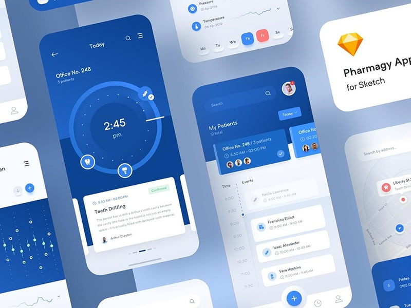 mobile app and features