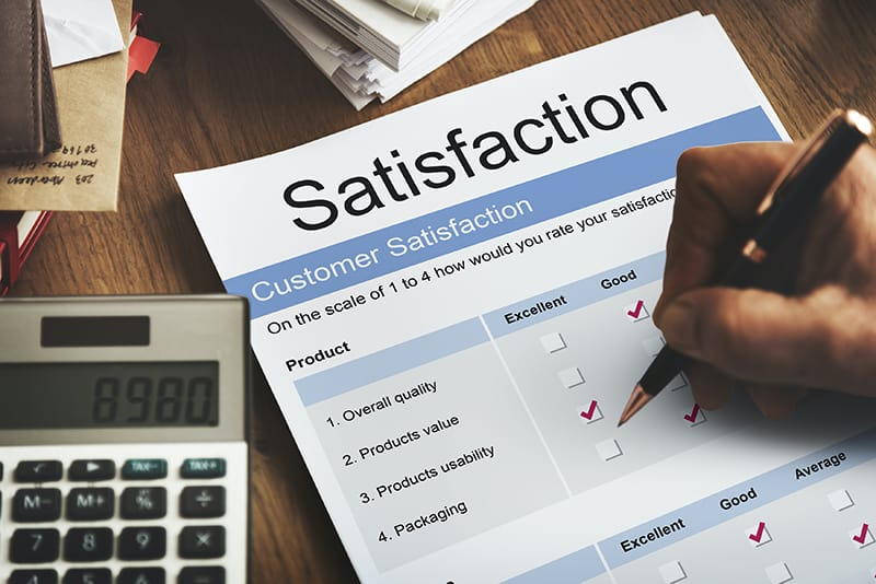 Customer Satisfaction Service Care Problem Solving Form