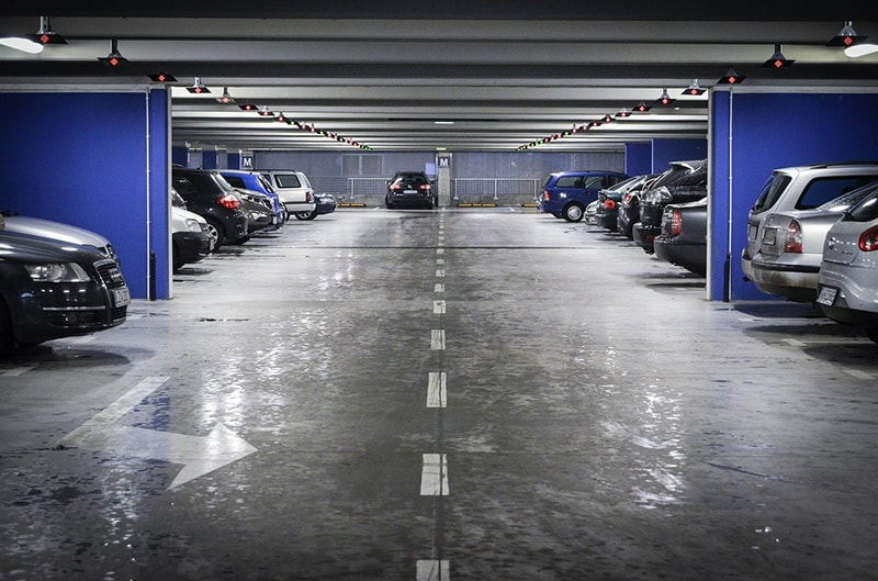 parking – cars in underground parking
