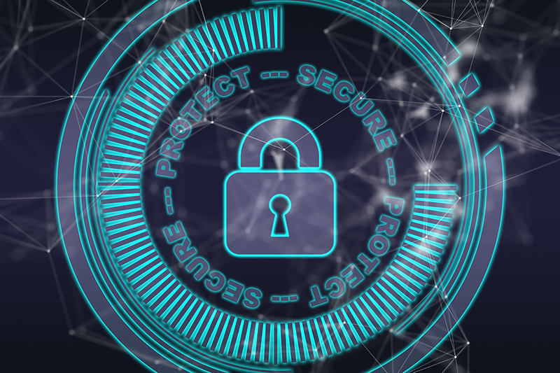 illustration security cyber internet technology hackers