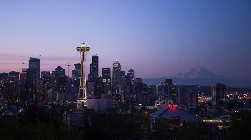 Seattle WA, cityscape, Seattle Washington