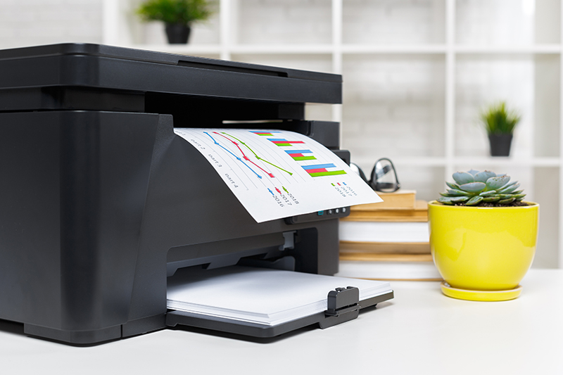 Printer in the office